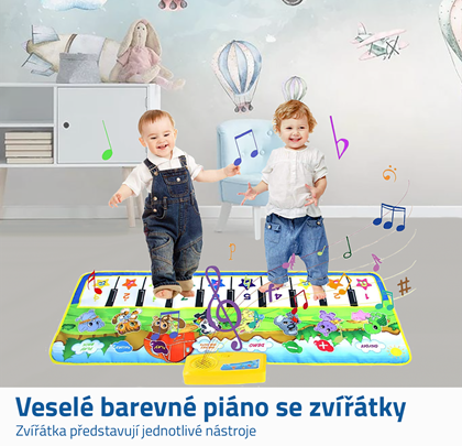 dětské hrací podložky