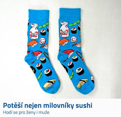 Barevné ponožky