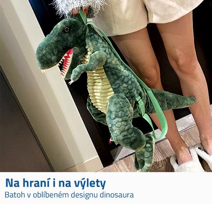 Školní batoh dinosaurus