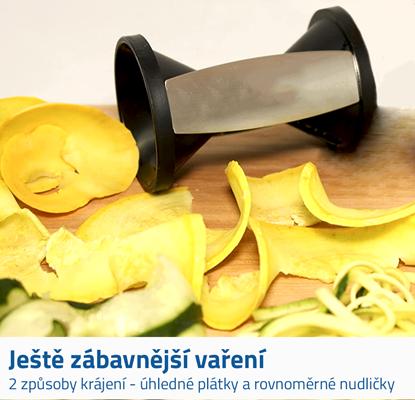 Spirálový kráječ na zeleninu