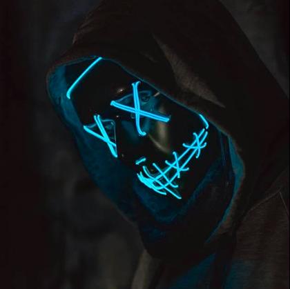 Svítící masky