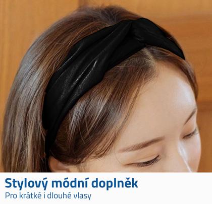 elastická čelenka do vlasů