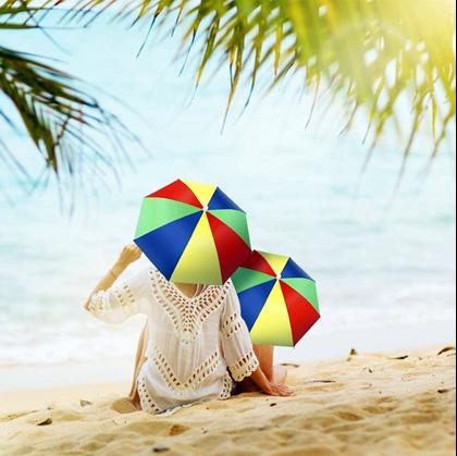 Deštníky na hlavu
