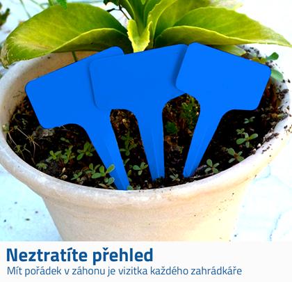 Popisky k rostlinám