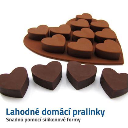 silikonové formy na čokoládu