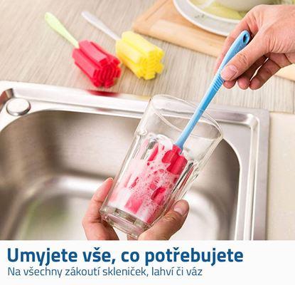 Obrázek Houbička na skleničky 5 ks