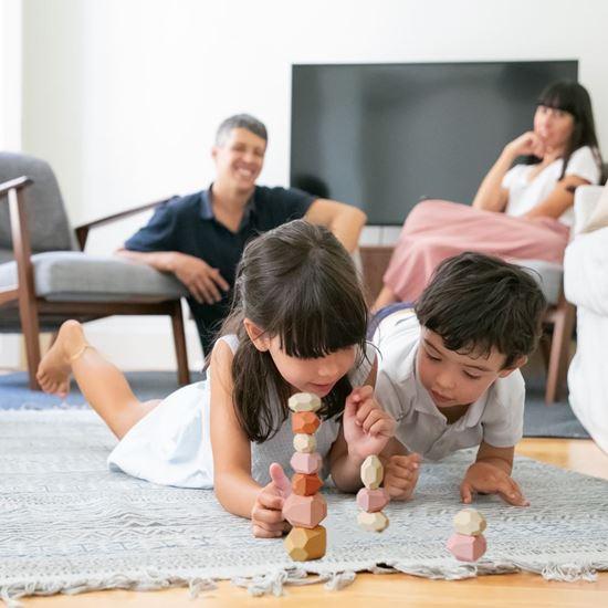 Balanční kameny pro malé děti