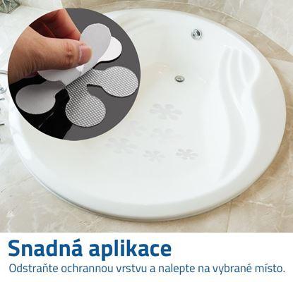 Obrázek Protiskluzové nálepky do vany