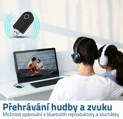 Audio vysílač