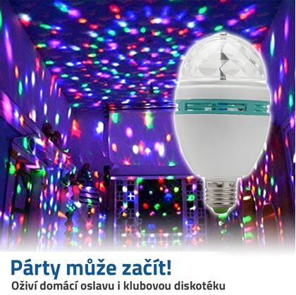 Obrázek z Disco LED žárovka