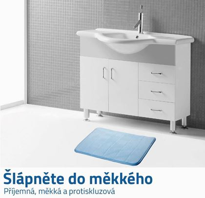 Protiskluzová koupelnová předložka
