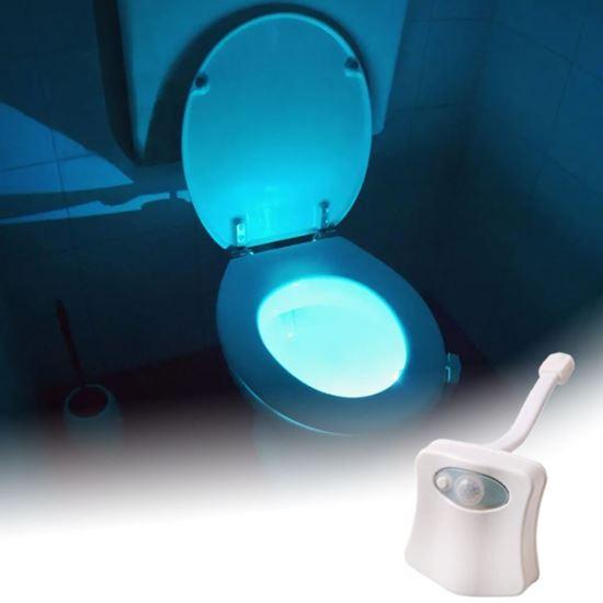 Automatické svetlo do wc