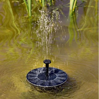 solární fontána