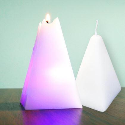 Svíčka, která mění barvy