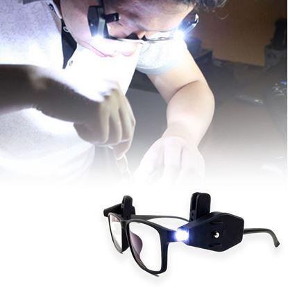 LED osvětlení na brýle