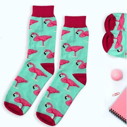 Vysoké barevné ponožky