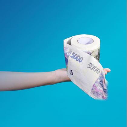 Toaletní papír pětilitr