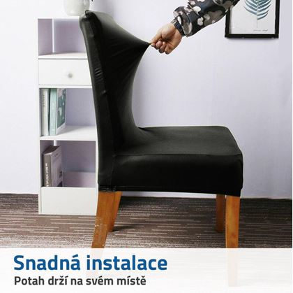 napínací potahy na židle