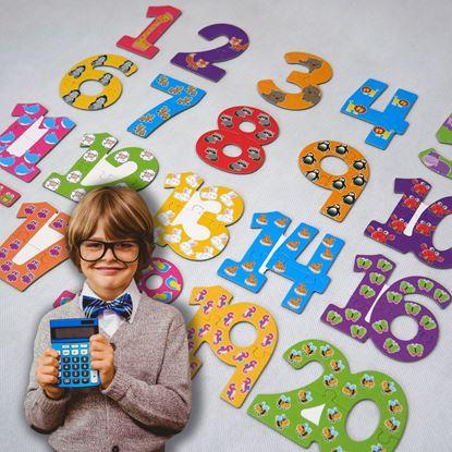 Puzzle s číslama