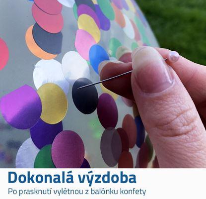 Balónek s konfetami